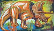 : Picture dinosaur Triceratops