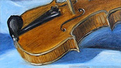 Sound body of the violin