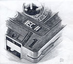 Drawing of a cassette tape