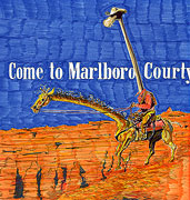 : Come to Marlboro Courty Giraffe