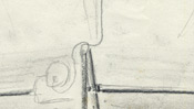 Sketch of the boat lamp
