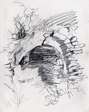 Drawing of the Naxos-source