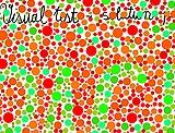 Visual test - color blind