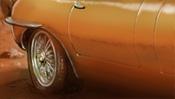 Jaguar E-type (Detail 2)