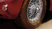 Jaguar XK 140 and Monaco Casino - speedart video (Detail 2)