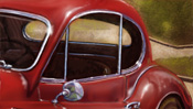 Jaguar XK 140 and Monaco Casino - speedart video (Detail 4)