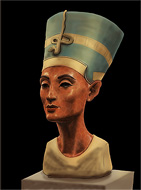 Nefertiti – beautiful queen of eqypt – digital painting