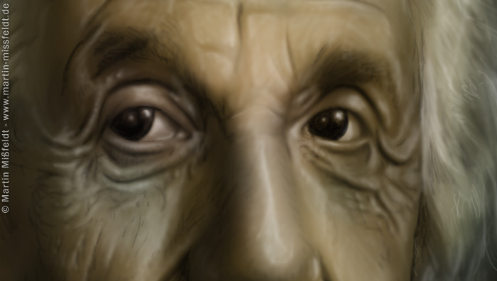 Albert Einstein (Detail 1)