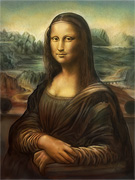 : Mona Lisa speed-painting