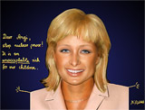 : Paris Hilton - Angela Merkel - cool hairstyle