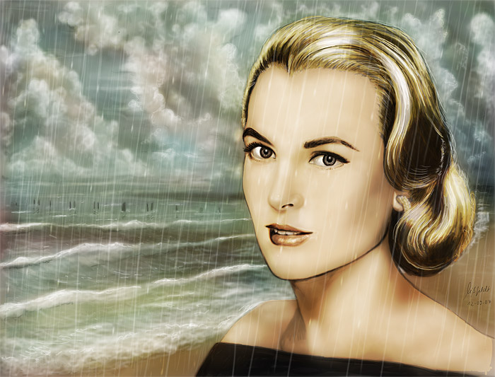 Grace Kelly (movie-Star) - beauty by nature. Martin Missfeldt, 2007