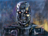 : Terminator Nicolas Sarkozy - Speed painting