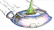 Flying saucer - UFO