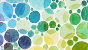 Coronavirus Sars Cov-2 (colour vision test watercolour) (Detail 4)