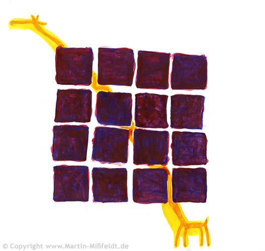 Giraffe in prison