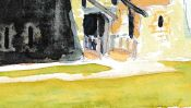 Tour Vauban (Watercolor) (Detail 5)