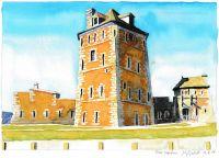 : Tour Vauban (Watercolor)