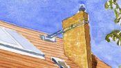 Watercolor House in Panketal near Berlin (Detail 2)