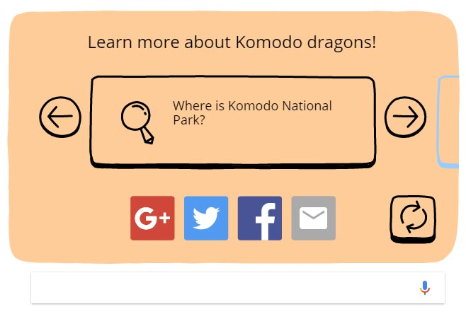 Where is Komodo National Park?
